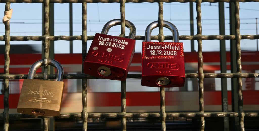 Liebesschlösser Schlüsseldienst Schlossheld