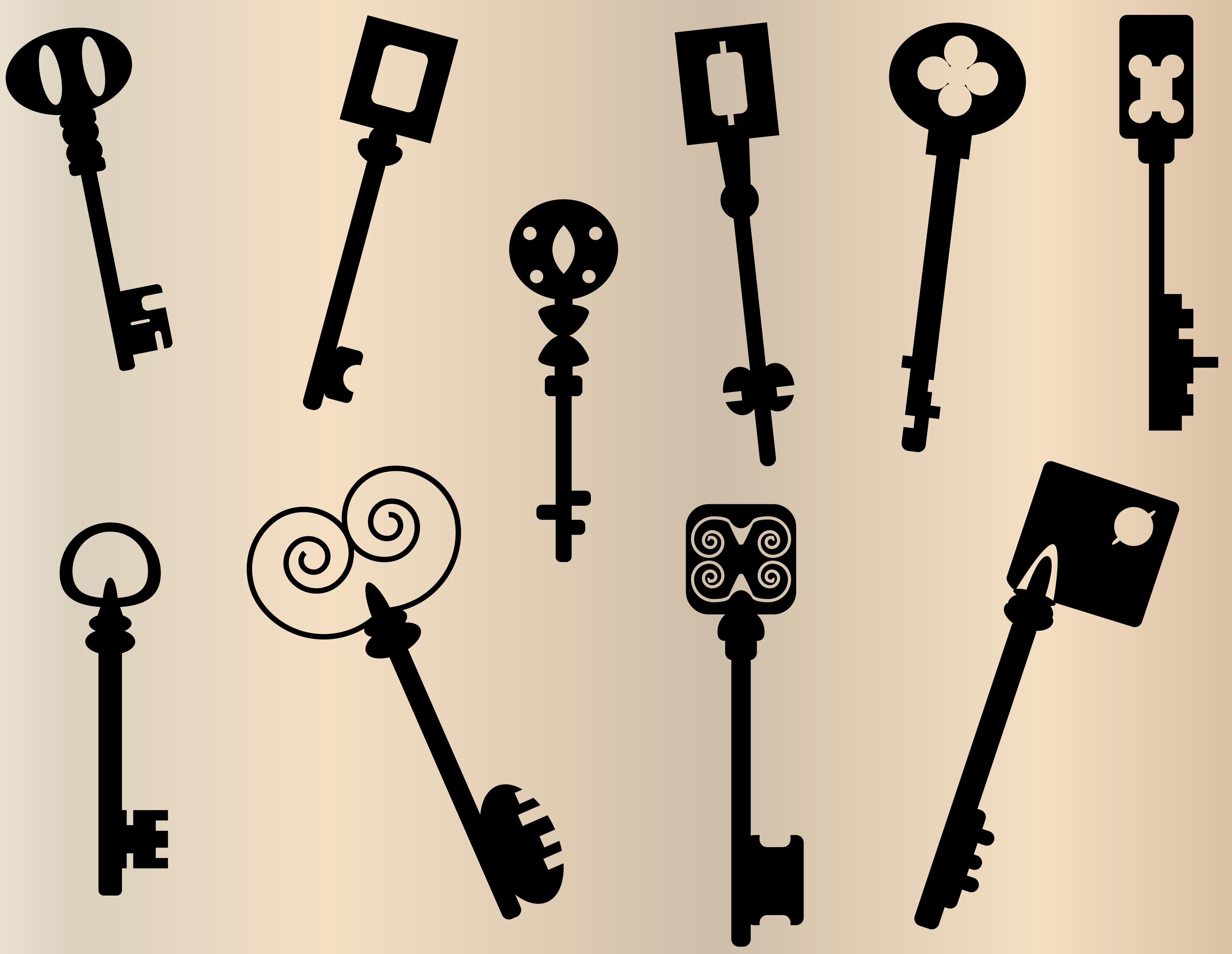 SchlossHeld Schlüssel Symbole